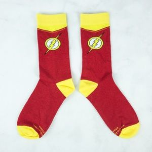 DC Comics CultureFly FLASH SPEED FORCE SOCKS Crew